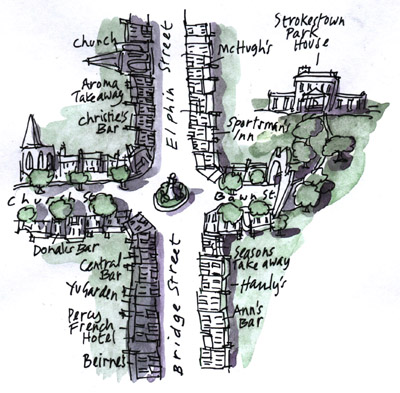 Map of Strokestown