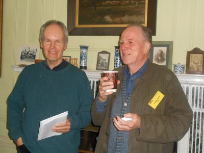 James Harpur launches Paddy Bushes new book 'On a Turning Wing' at Strokestown House, 2016