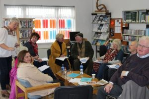 Poetry Workshop with James Harpur, Strokestown Library