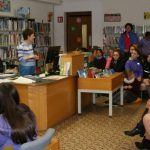 Schools' Poetry Readings, Culture Night Photo Louise Cole