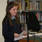 Strokestown Poetry Festival organises Schools' Poetry Reading Photo Louise Cole