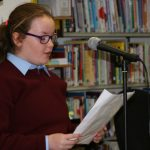 Reading on Culture Night in Strokestown Library Photo Louise Cole