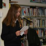 Reading at Culture Night event in Strokestown Library 2017 Photo Louise Cole