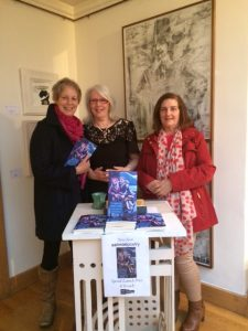 Melissa Newman, Mary Melvin Geoghegan and Mary Dolan (L - R)