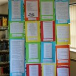Schools shortlisted poems exhibition in Strokestown Library