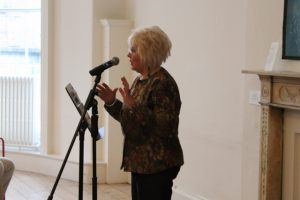 Margaret Hickey, Editor of the Strokestown anthology 2019