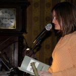 Majella Kelly, Tuam reading her winning poem 'Virginia Creeper'